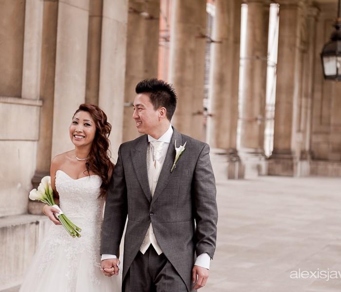 Old Royal Naval College Wedding Photographer - London - Hephu and Kim