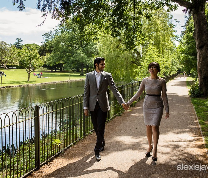 Chiswick House Engagement Photos - Jess and Suresh
