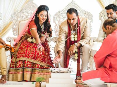 Three Rivers Golf Club Wedding Photographer - Nisha & Prashan