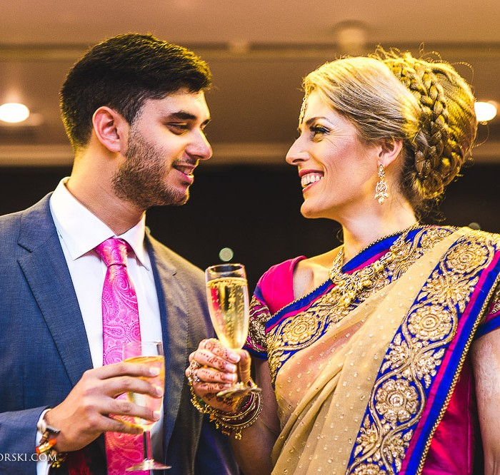 London Sikh Wedding Photographer - Woolwich - Clare and Kerry