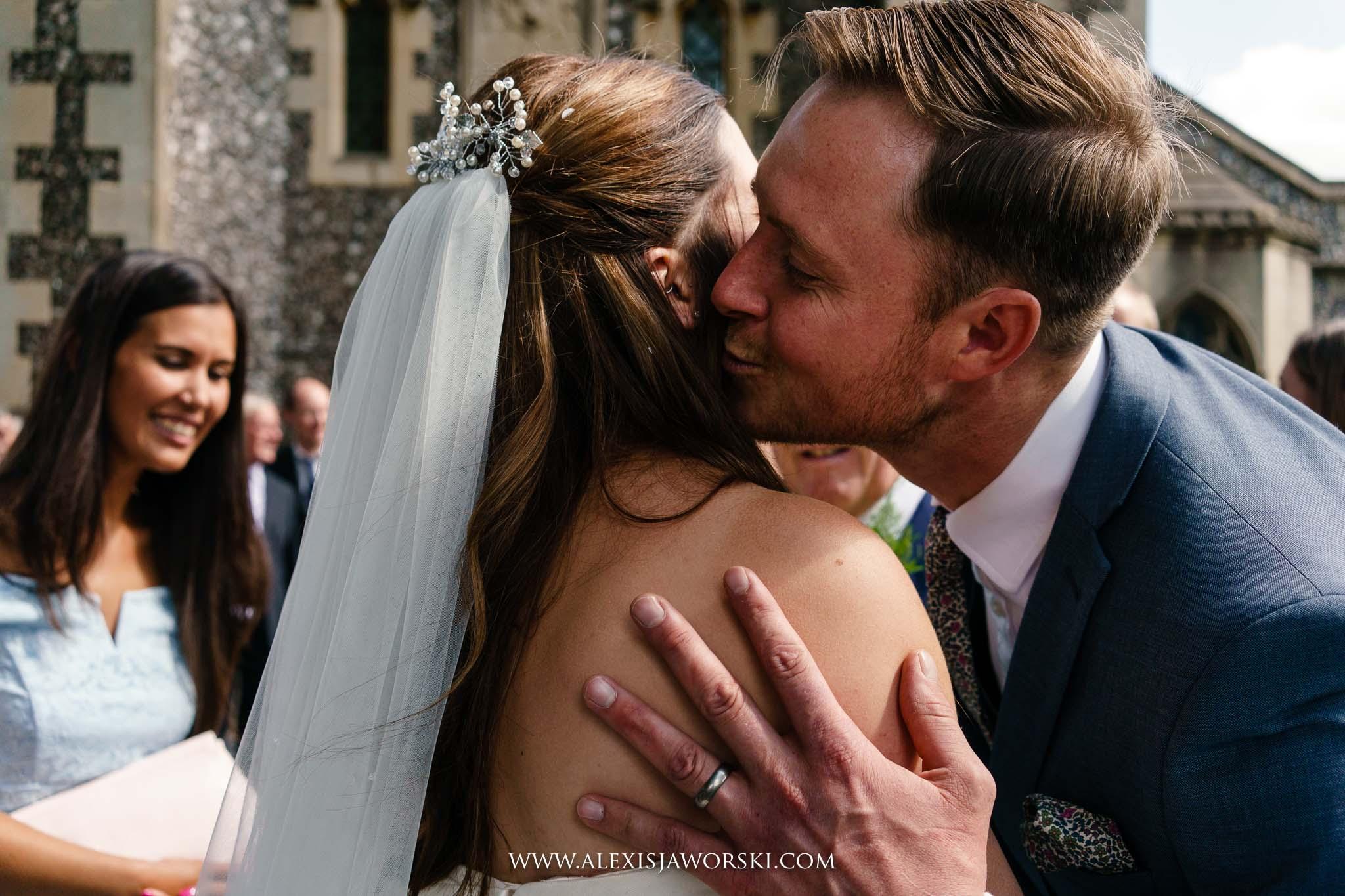 kisses and congratulations