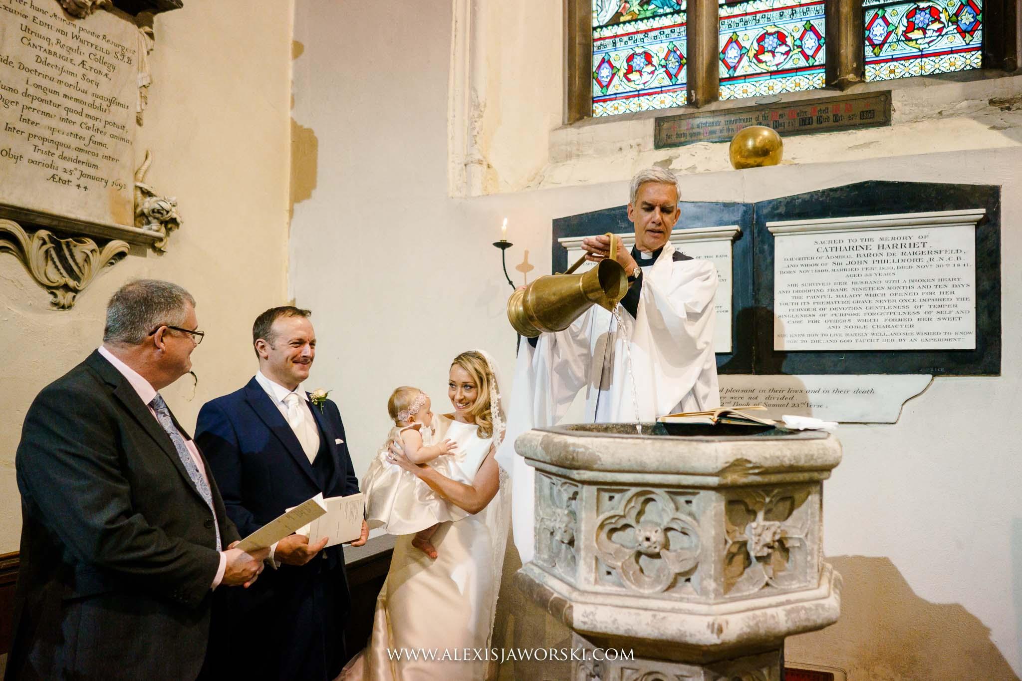 baptism of child