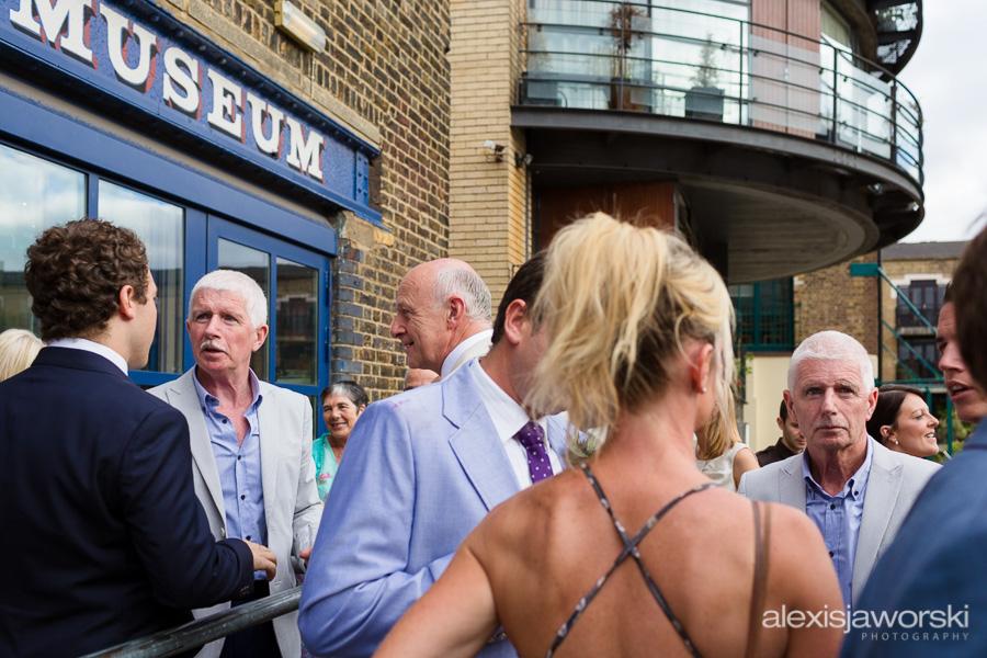 london canal museum wedding photographer-104