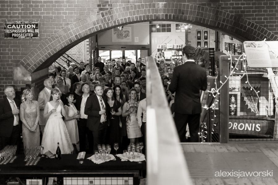 london canal museum wedding photographer-163