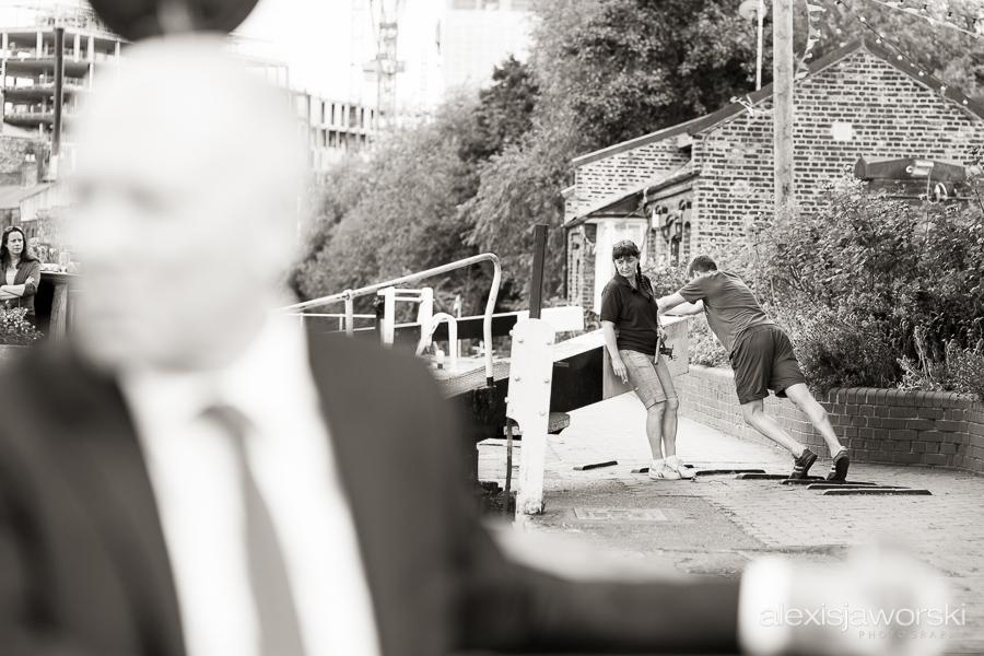 london canal museum wedding photographer-41