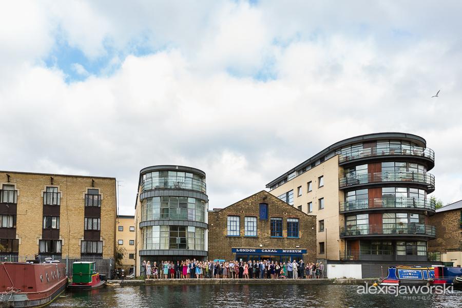 london canal museum wedding photographer-63