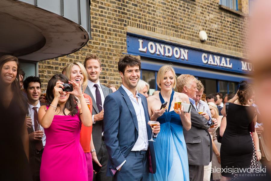 london canal museum wedding photographer-66
