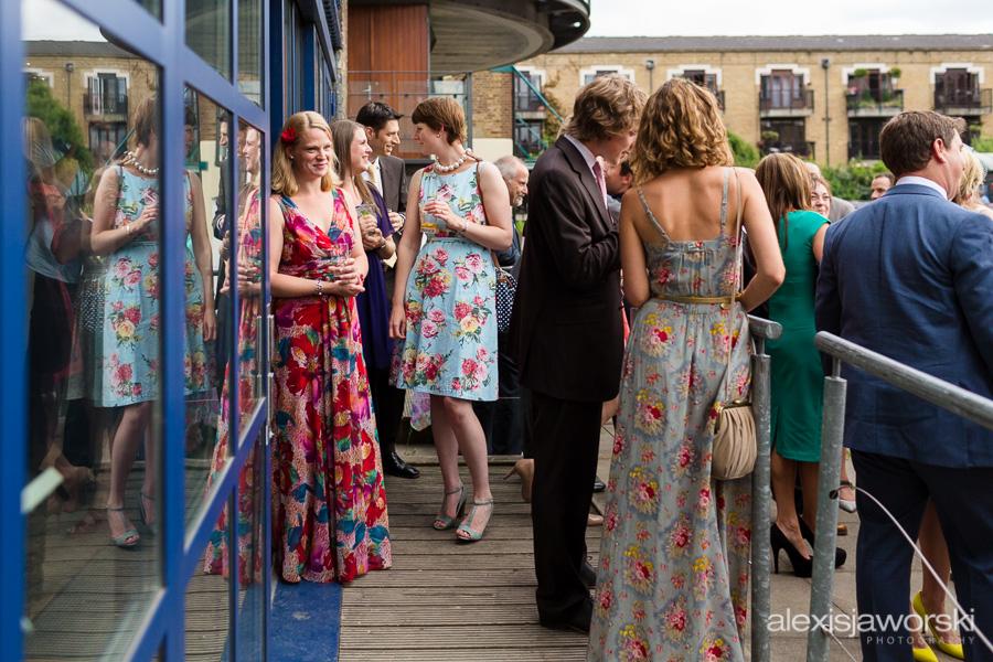 london canal museum wedding photographer-73