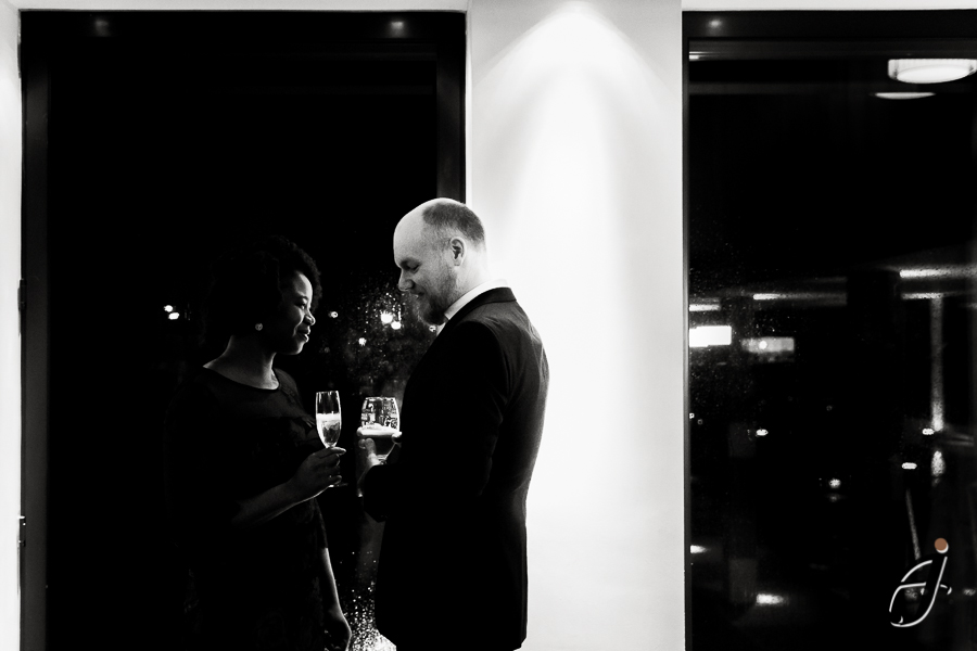 wedding at the hilton london heathrow hotel