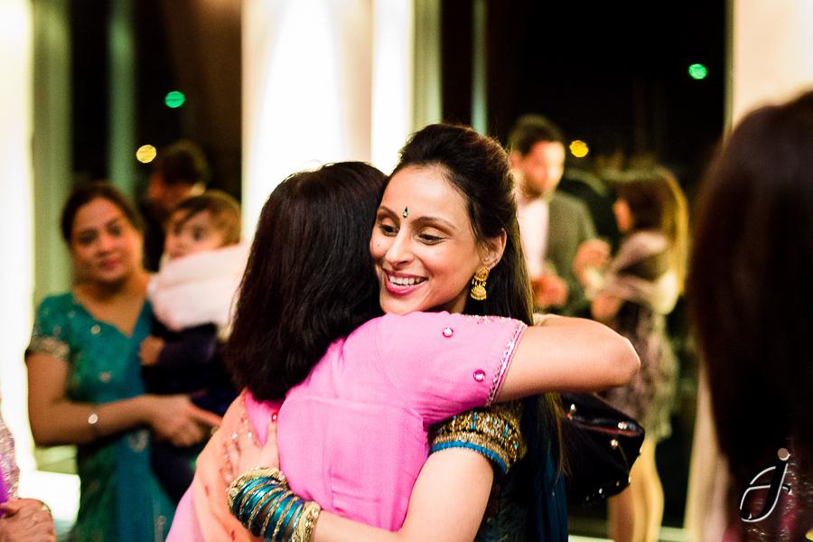 guests hugs