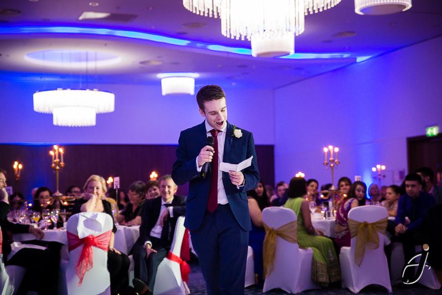 best man speech at hilton london heathrow hotel