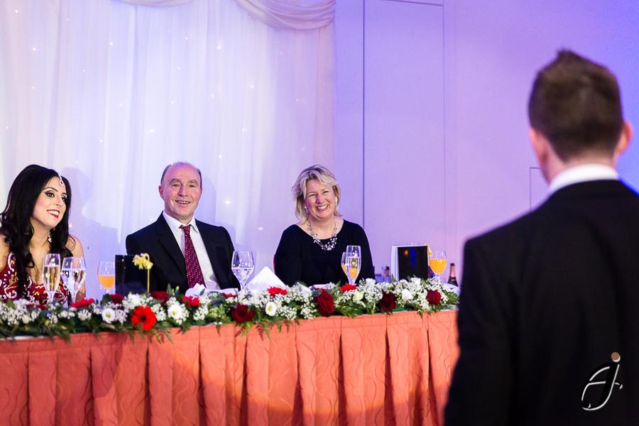 groom speech at london heathrow hotel