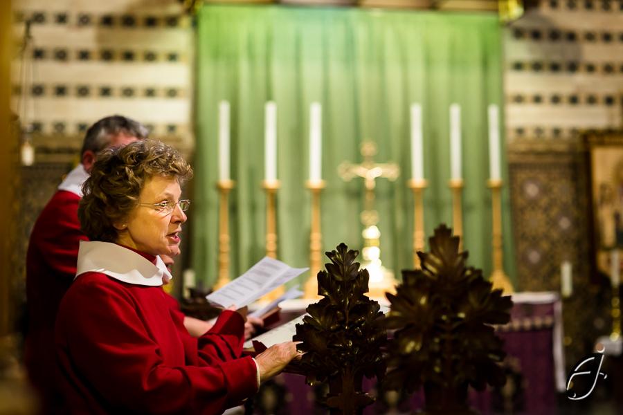 choir singer at all saints church