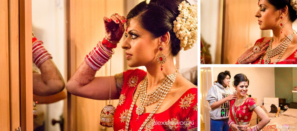 bride_prep_sikh wedding photography london-6