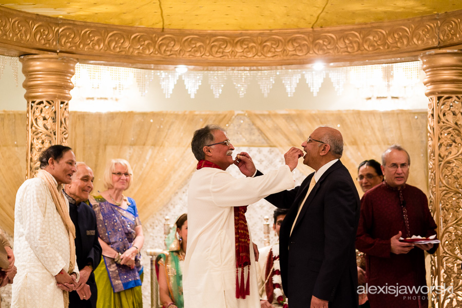 hindu wedding ceremony in brighton