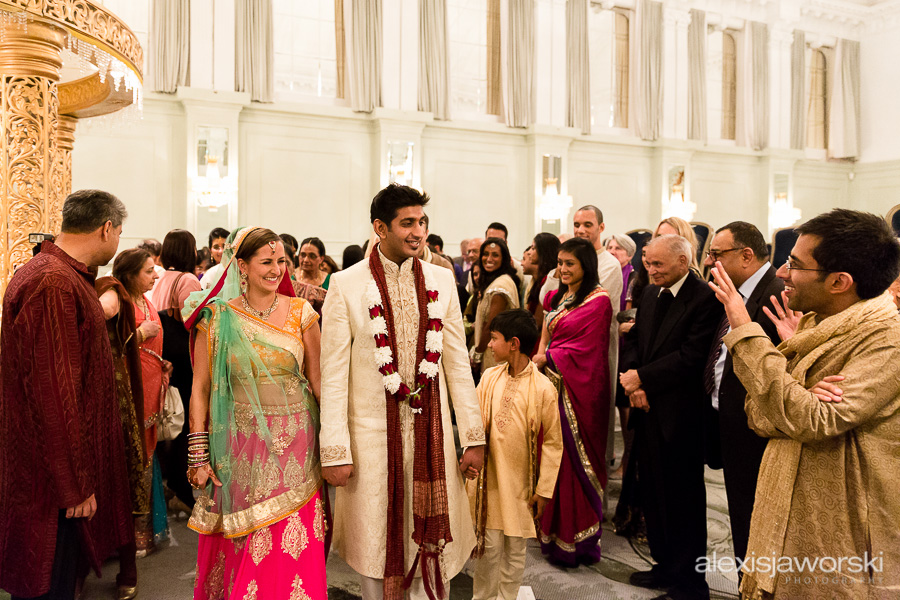 Hindu wedding ceremony at Hilton Metropole