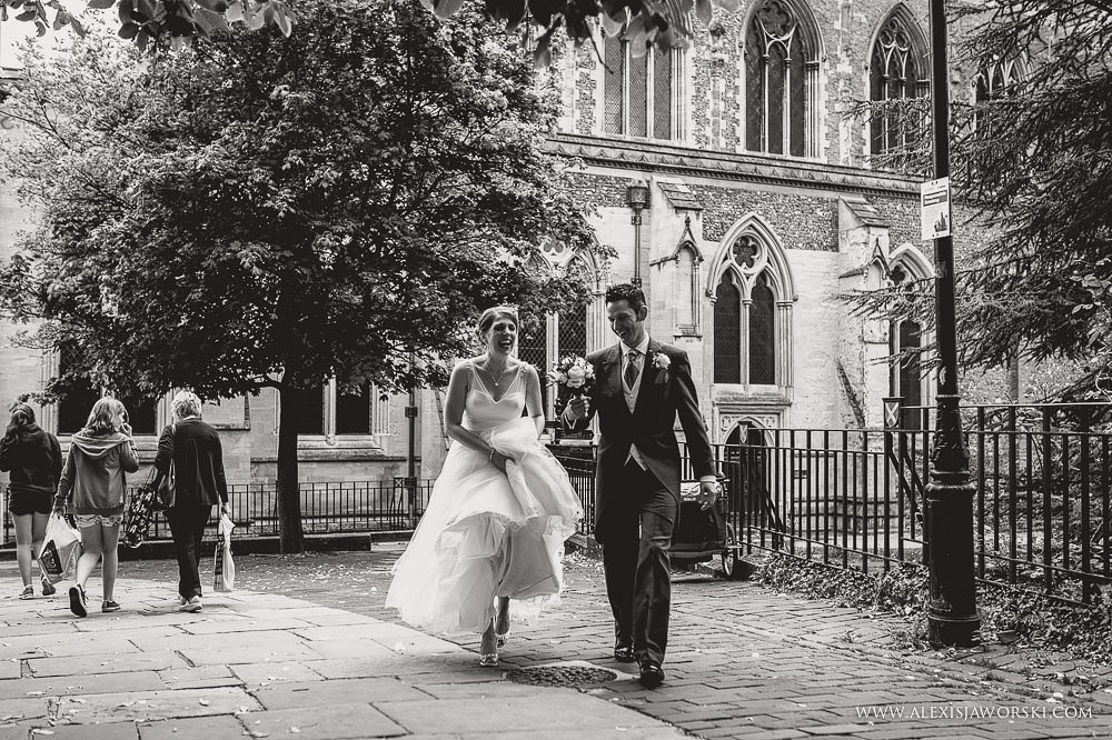 Cafe rouge Wedding Photography - Hitchin - Clare and Tom-185