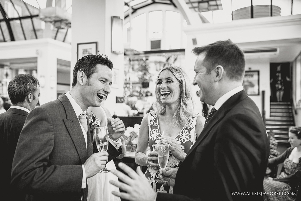 Cafe rouge Wedding Photography - Hitchin - Clare and Tom-233