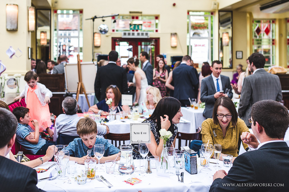Cafe rouge Wedding Photography - Hitchin - Clare and Tom-241