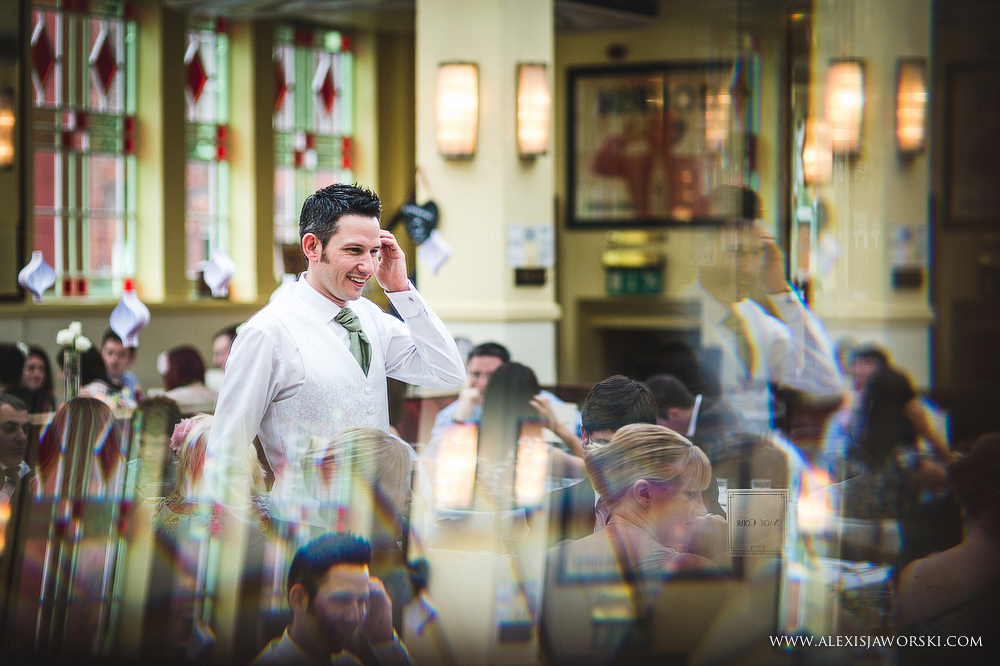 Cafe rouge Wedding Photography - Hitchin - Clare and Tom-292
