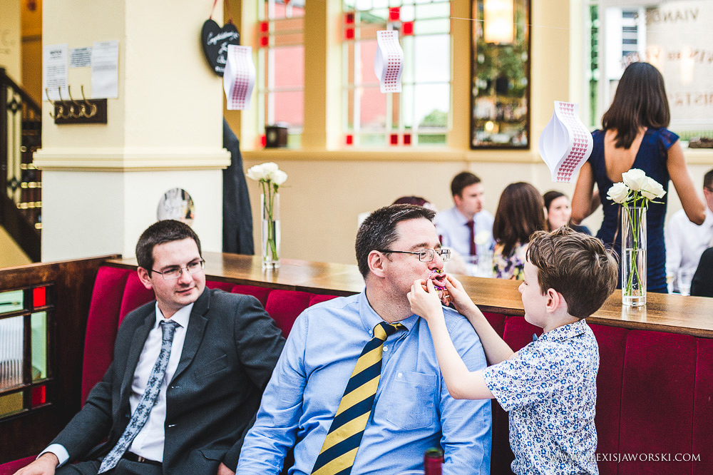 Cafe rouge Wedding Photography - Hitchin - Clare and Tom-387