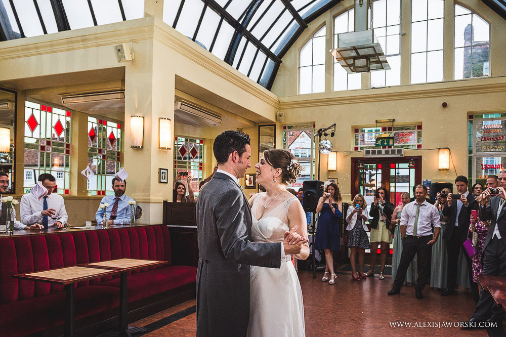Cafe rouge Wedding Photography - Hitchin - Clare and Tom-393
