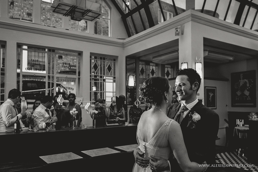 Cafe rouge Wedding Photography - Hitchin - Clare and Tom-409