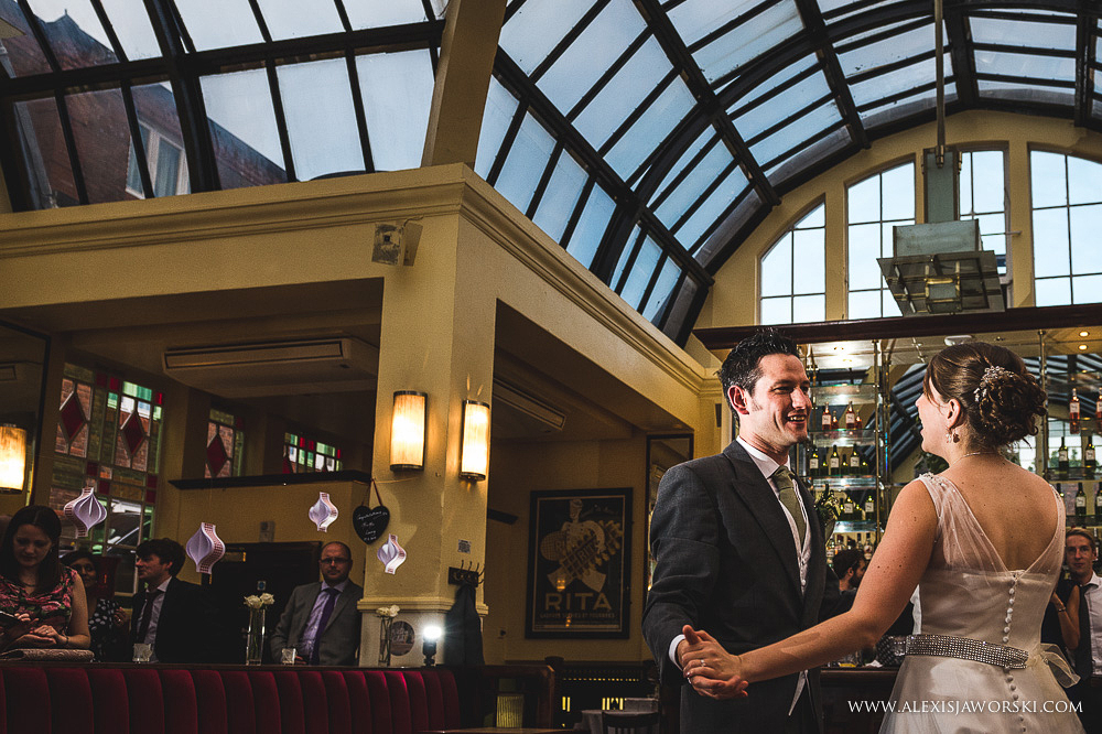 Cafe rouge Wedding Photography - Hitchin - Clare and Tom-410