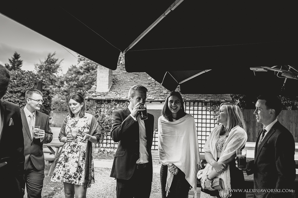 Cafe rouge Wedding Photography - Hitchin - Clare and Tom-43