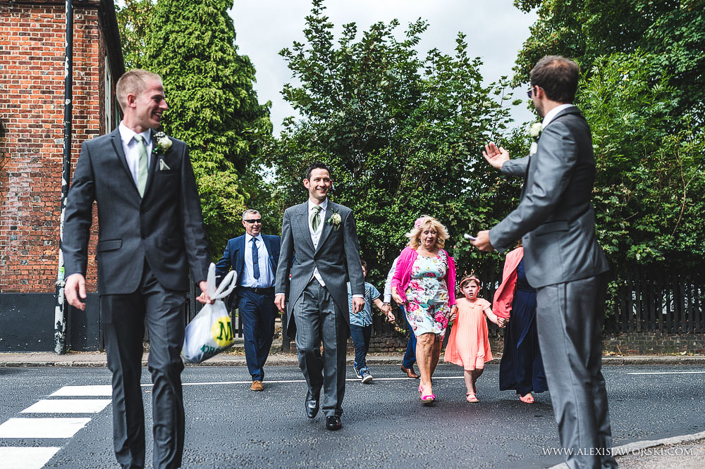 Cafe rouge Wedding Photography - Hitchin - Clare and Tom-53