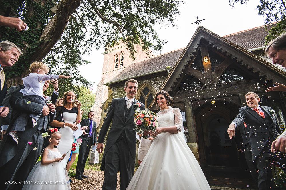 st. nicholas church in hurst berkshire wedding photos-144-2