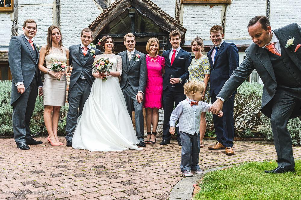 st. nicholas church in hurst berkshire wedding photos-229-2