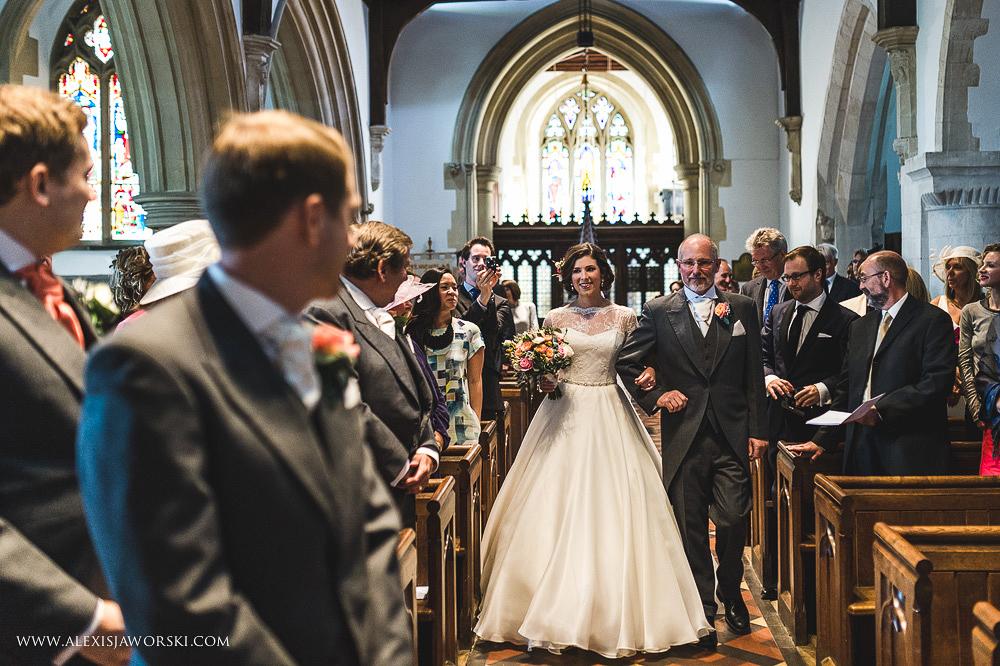 st. nicholas church in hurst berkshire wedding photos-99-2