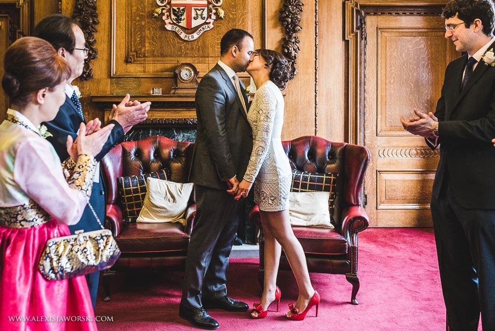 Islington Town Hall Wedding Photography-171-2