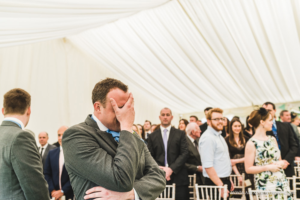 Marquee Wedding Photos in Buckinghamshire-65