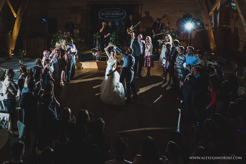 First Dance at Sheepdrove Eco Centre