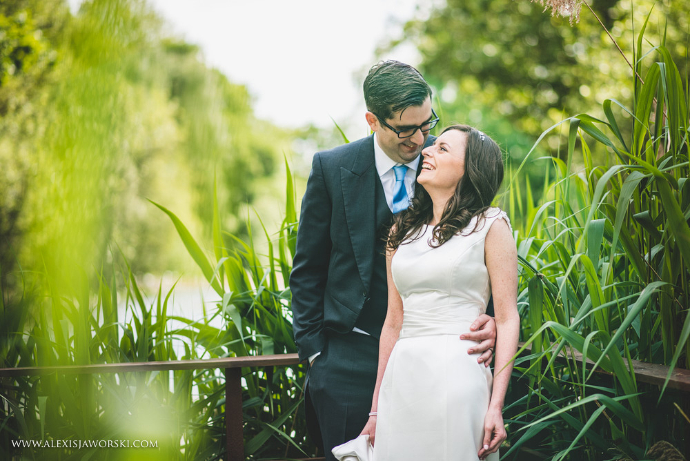 wedding portraits at Stoke Place