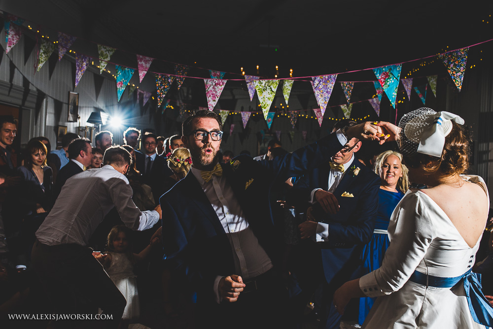 First dance wedding photography at the Rosendale