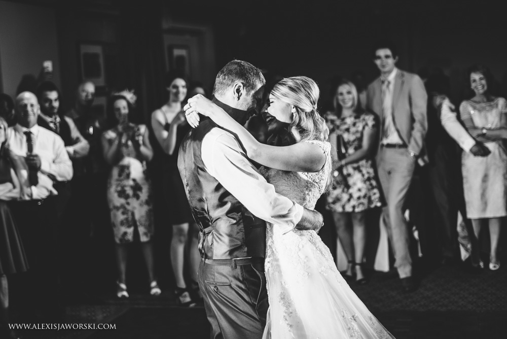 First dance at warbrook House