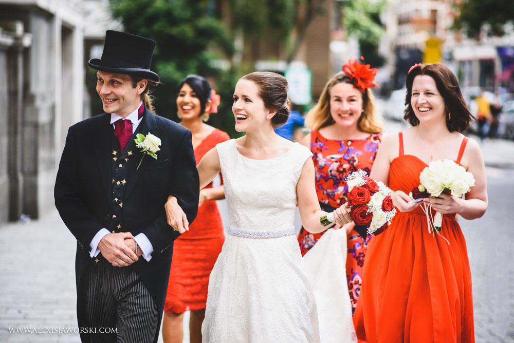 Islington Town Hall wedding photos-17-2