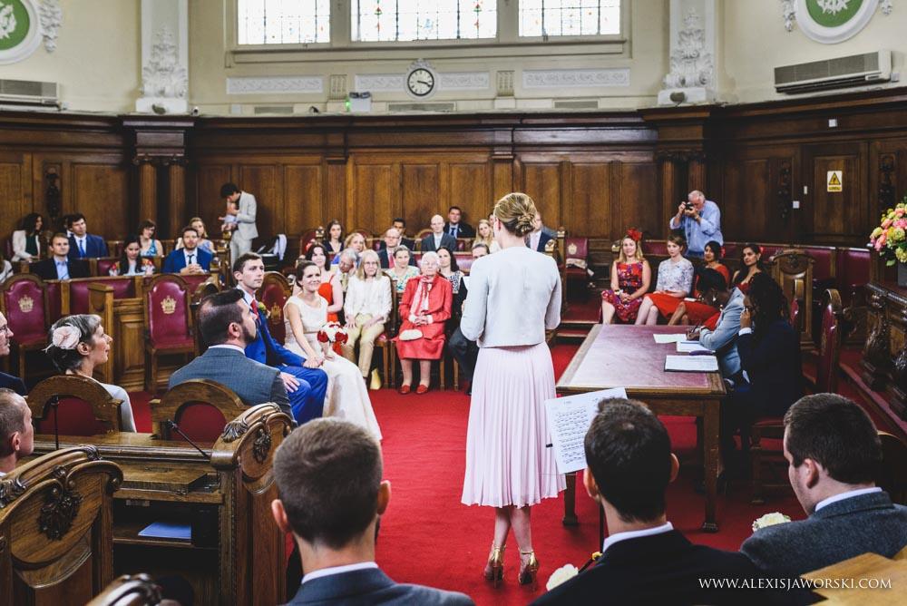 Islington Town Hall wedding photos-38