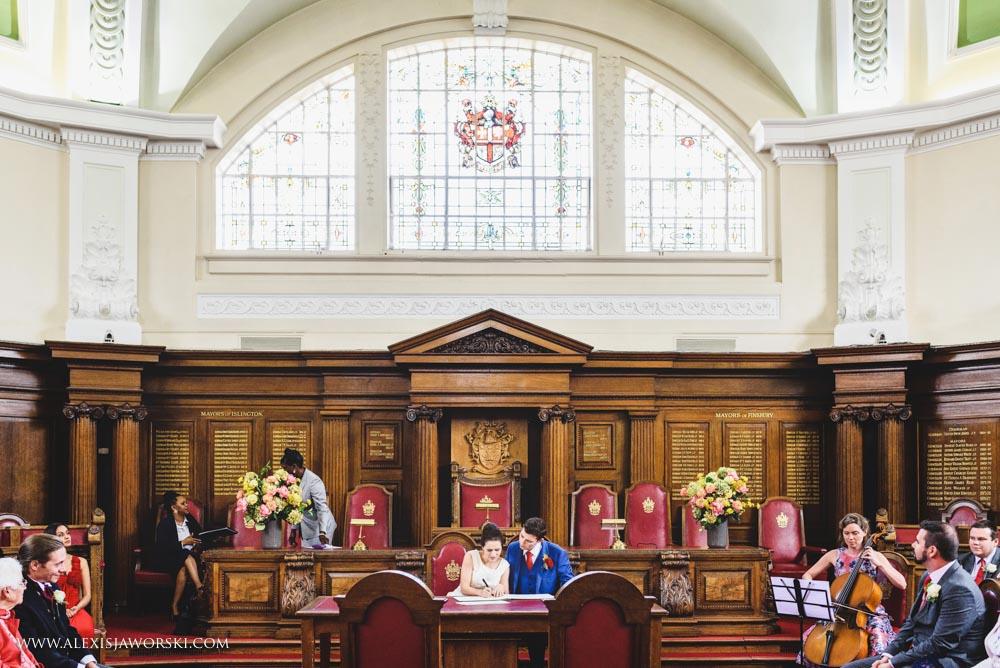 Islington Town Hall wedding photos-49-2