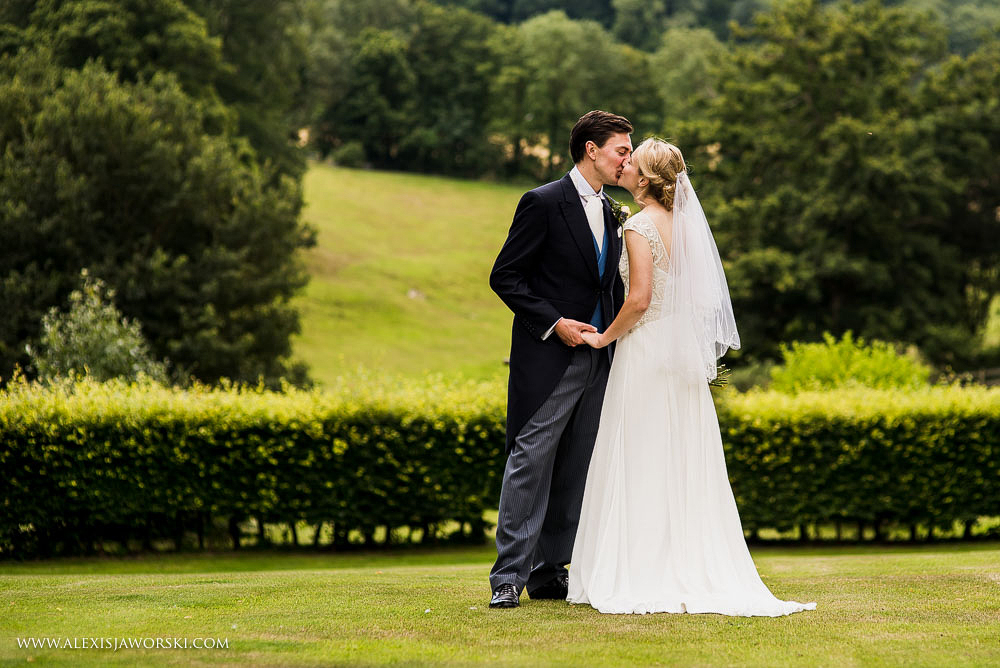 Wedding portraits at Langrish House