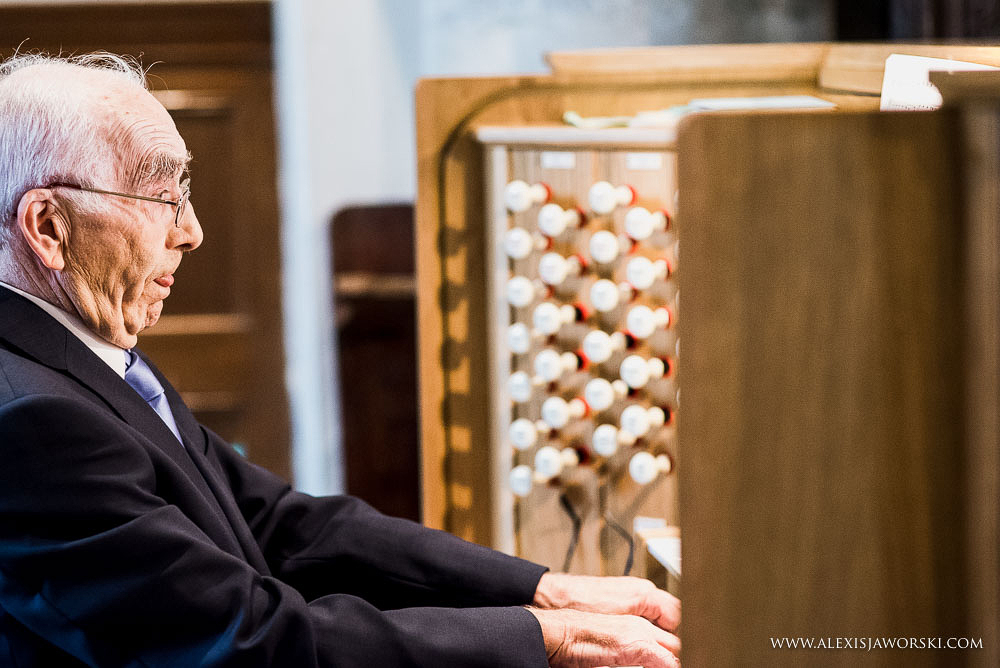 Organist at St.Peters Church in Bishops Waltham