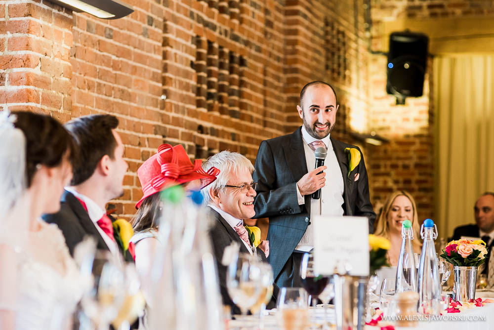 Best man speech at wasing park
