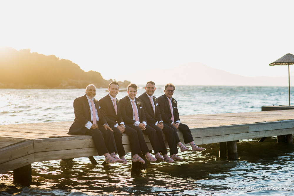 Find portrait of groomsmen