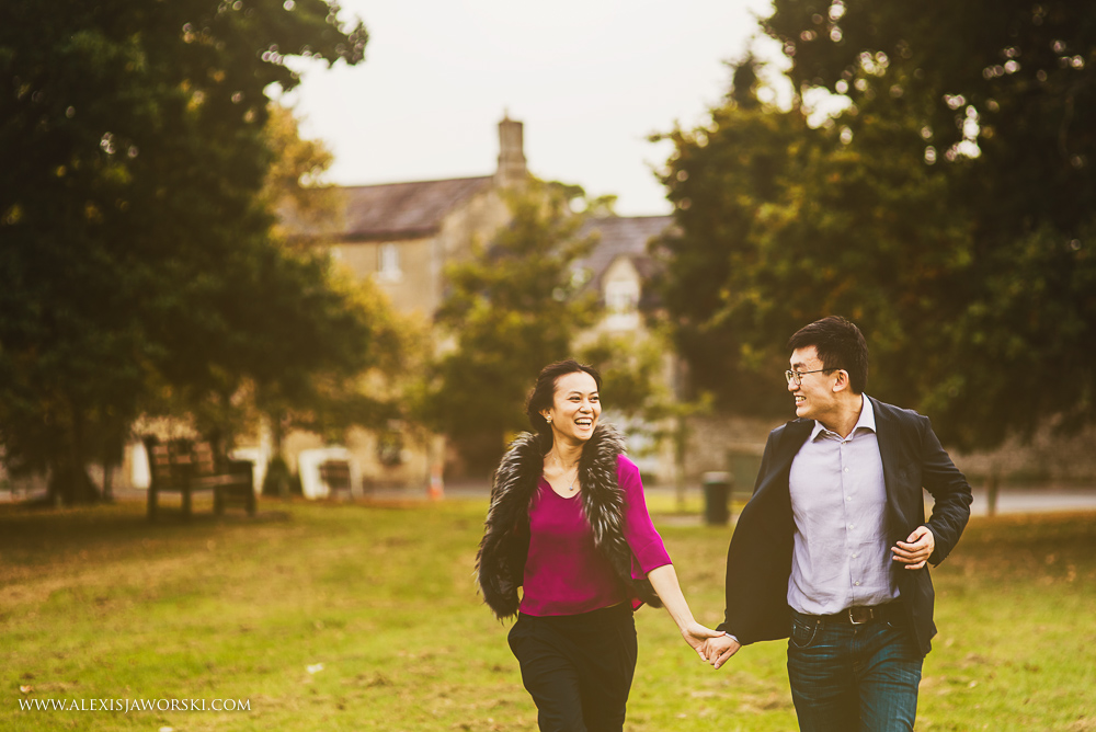 fun chinsese couple portrait