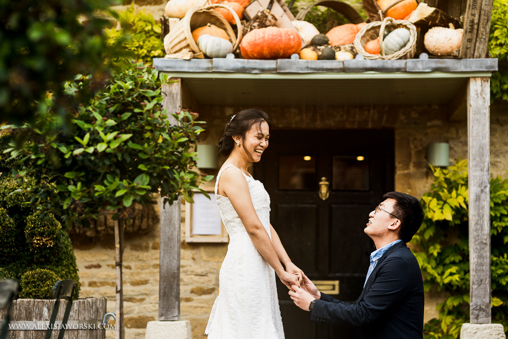 Chinese wedding proposal image