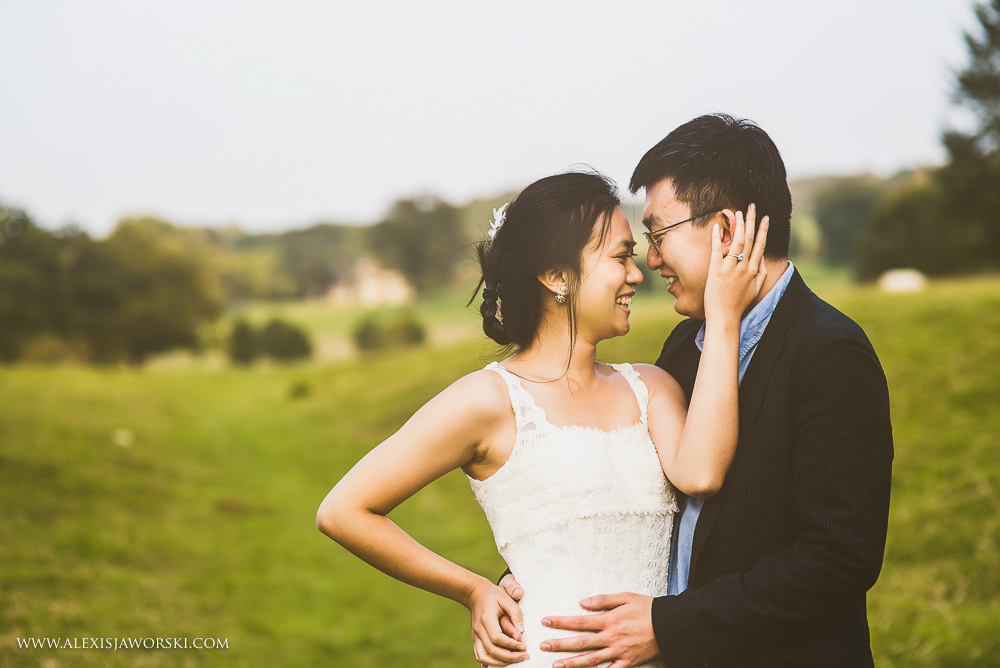 gorgeous chinese couples shoot