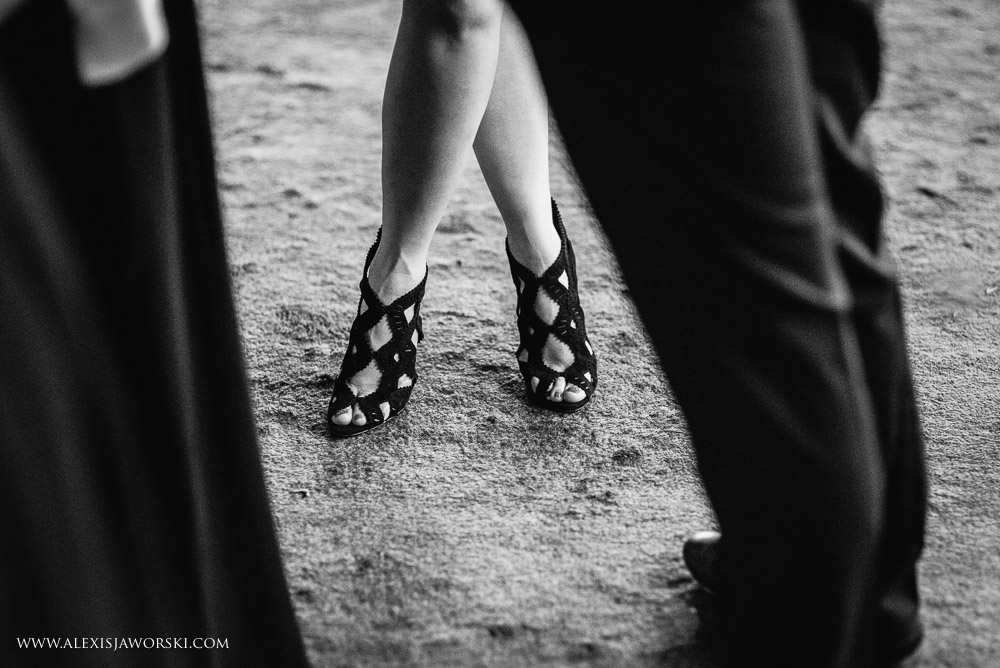 Shoes at wedding